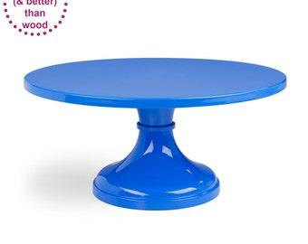 Blue Wedding Cake Stand
