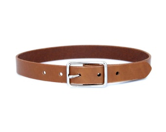 Leather Toddler and Baby Boy's Belt - London Tan Casual Belt