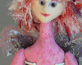 "Candy Fairy - 18"" Art Doll"