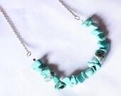 Bivara (Turquoise Chip Stone Beads)