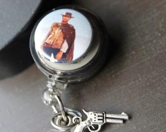 Men's Badge Holder Retractable Badge Holder