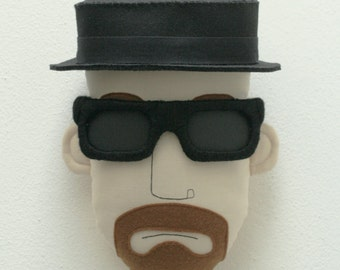 Heisenberg Pillow Face - MADE TO ORDER