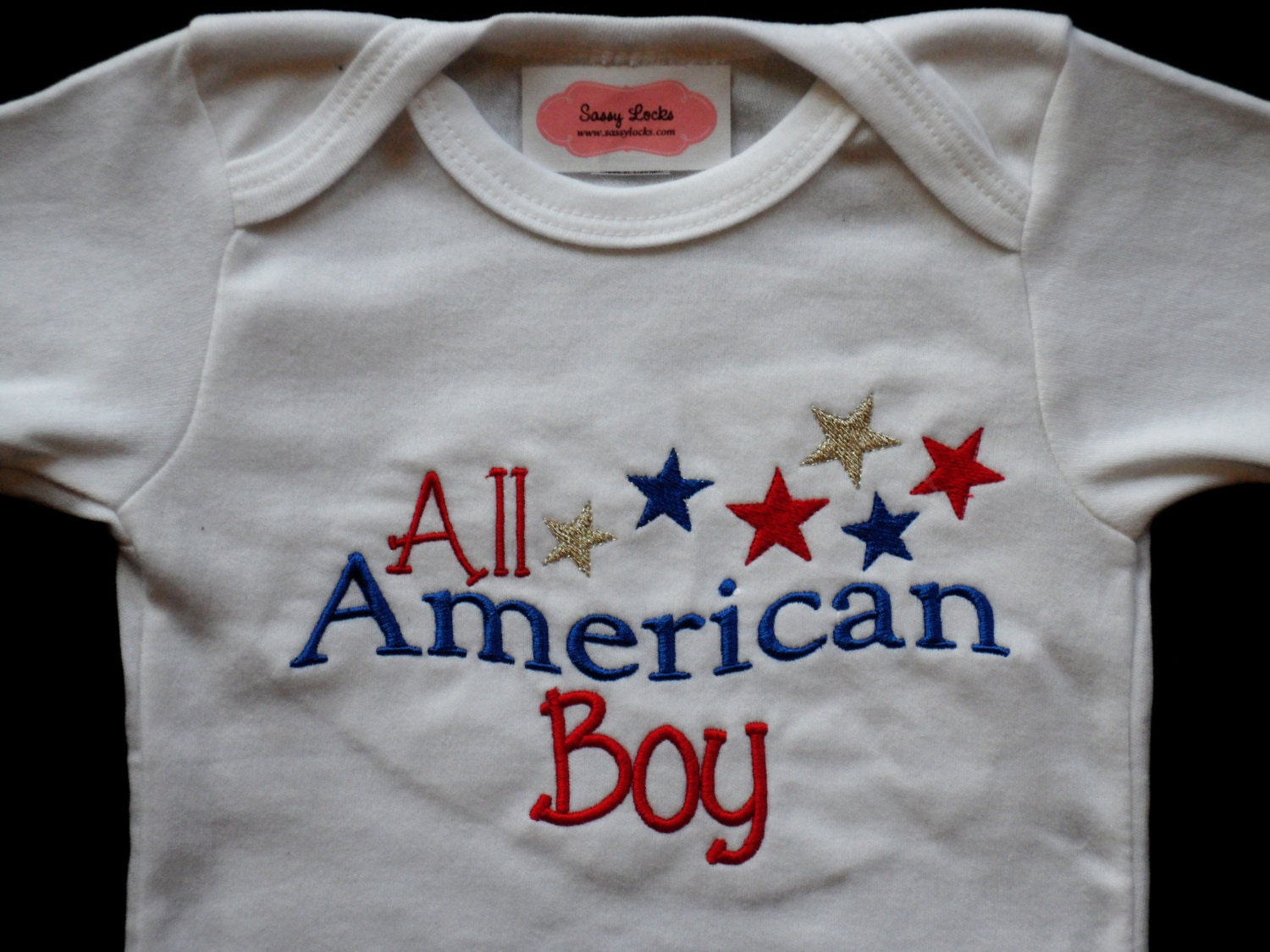 July Baby Boy Clothes Patriotic All