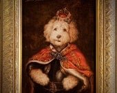 8x10 Royal Pet Portrait