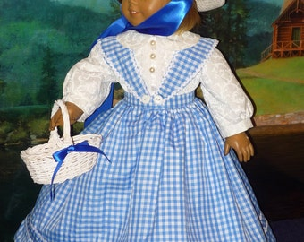 Antebellum Dress with Petticoat, Bloomers fits American Girl Dolls Marie Grace or Cecile