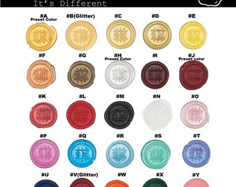 Sealing Wax - Stamp Wax, Seal Wax - Standard or Glue Gun Use