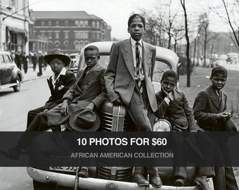 Vintage African American Photo Collection