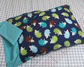 Pillowcase Set - Hedgehogs