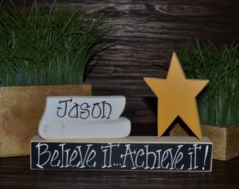 Graduation Party Decoration Personalized Graduation Gift Personalized Diploma Graduation Cap Graduation Party Decor Graduation Keepsake