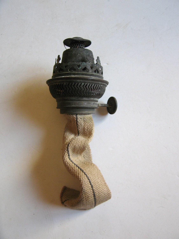 Antique Brass Oil Lamp Salvator Brenner Burner