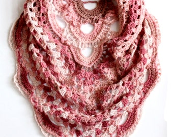 Shawl Crochet Pattern, Crochet Shawl Pattern, Shawl Scarf Crochet Pattern, Shawl Pattern, Triangle Shawl Pattern, Shawl Crochet