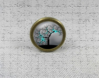 TREE OF LIFE - Drawer Knobs Pulls Handles / Kitchen Cabinet Knobs Handle Pull / Antique Brass Dresser Drawer Knobs Pulls Handles Hardware