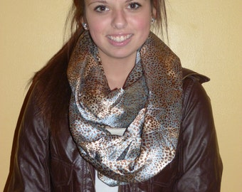 Infinity Circle Scarf - Leopard