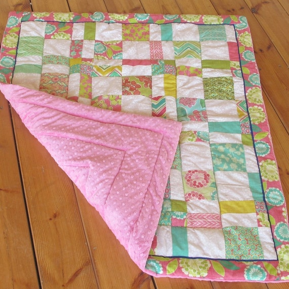 unique homemade baby girl quilt crib nursery bedding