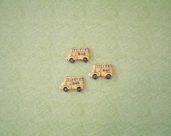 Bus Button set of 3