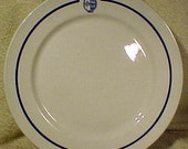 Canadian Coast Guard Dinner Plate Vintage