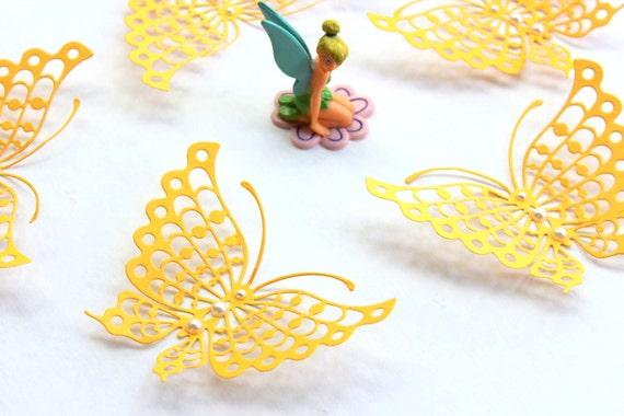 Articles similaires papillons de mur 3d 3d papillon for Decoration murale papillon 3d