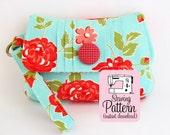 Pintuck Wristlet PDF Sewing Pattern | Clutch Handbag Bridesmaids Bags Sewing Pattern PDF