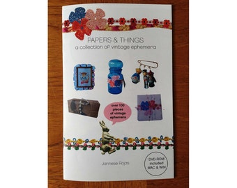 Paper & Things Vintage Ephemera Zine with DVD