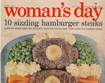 Woman's Day Magazine April 1956 - Vintage