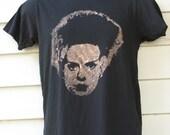 SALE Men's/Unisex Bride of Frankenstein Bleach Stenciled Shirt