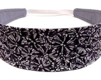 NEW  -  Reversible Fabric  Headband  - VANESSA  -  Headbands for Women