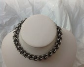 Large Gauge Stainess Steel Spiral Byzantine Bracelet