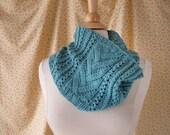 Bluet Cowl Knitting Pattern PDF
