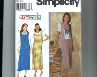 Simplicity Misses' Jumper Pattern 8655