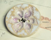 flower sew on button