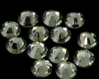 Swarovski 2058/2088 Black Diamond Flatback Rhinestones