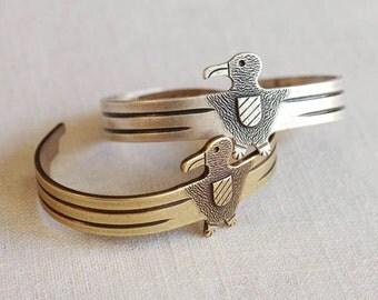 thunderbird cuff bracelet . thunderbird bracelet . eagle bracelet . bronze bird bracelet . boho cuff bracelet . thunderbird jewelry // 3MSGR