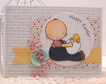 Happy Easter - Card and Envelope