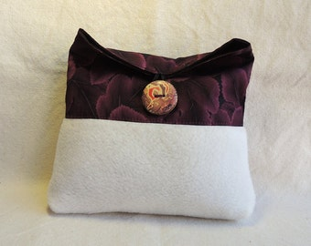 Fold over purse. Cosmetic case, travel case, makeup bag, gift, small folded pouch - Buy more and save on shipping.