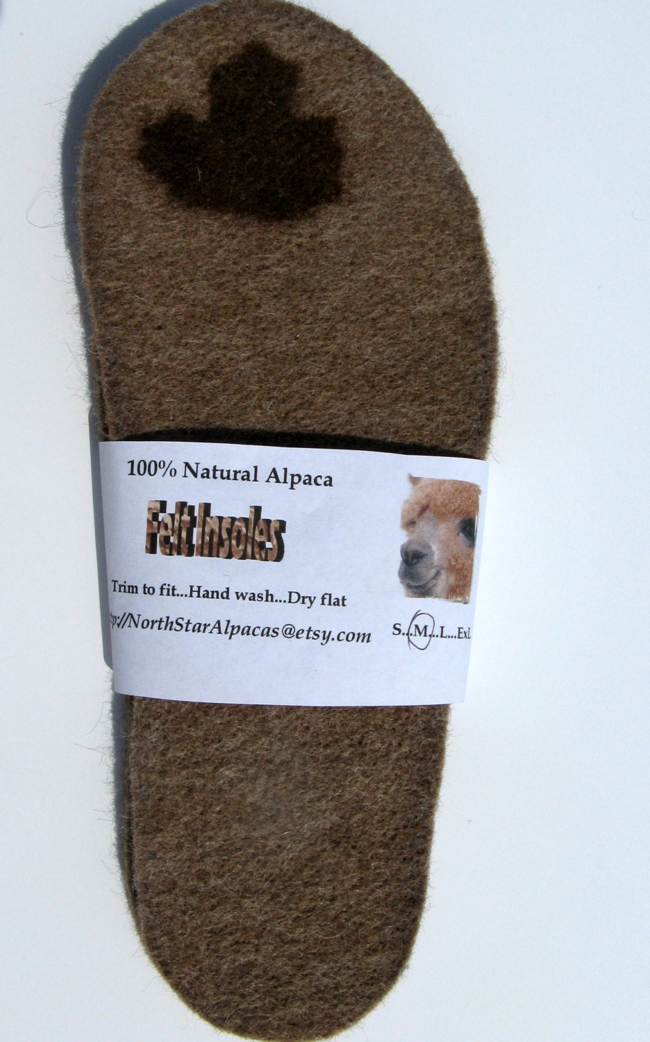 Alpaca Wool Insoles Shoe Inserts Boot Liners For Children
