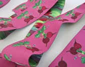 Renaissance Ribbons Red Radish Beets  LFNT 126 38mm  1.5 Inch Wide - 2 yds per listing