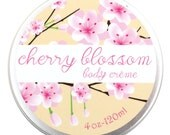Cherry Blossom Shea Butter Body Cream - Vegan and Cruelty Free - 95% natural