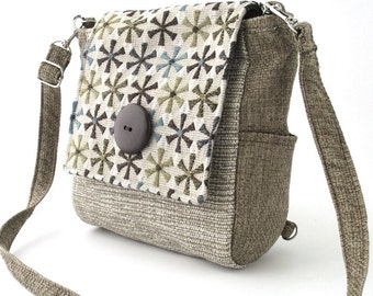 purse backpack converts to crossbody messenger bag, shoulder bag, sling bag,  tote bag, travel bag, fabric handbag, zipper bag,