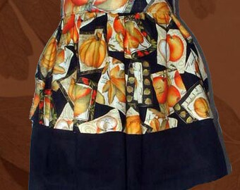 Apron, Cover Up, Half Style, Autumn's Bounty
