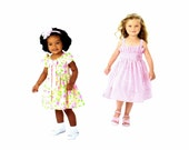 Simplicity 2265 Sewing Pattern Girls Dress in Two Lengths Project Runway Childrens Size 4 - 5 - 6 - 7 - 8 UNCUT