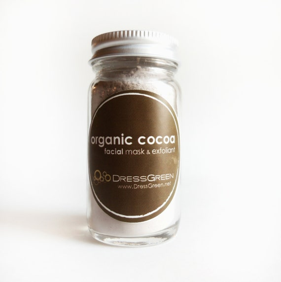 Organic Cocoa Face Mask - Softening and Antioxidant-rich