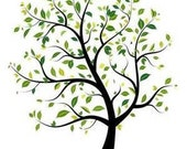 Tree 2 Cross Stitch Pattern PDF