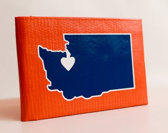 Washington State Duct Tape Wallet - by jDUCT
