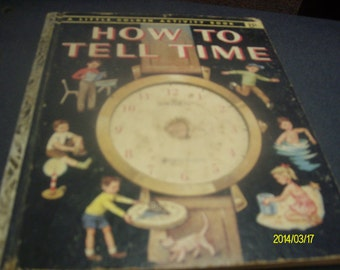 How to Tell Time  Little Golden Activity Book