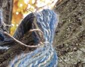 EQUINOX - 114 yards 2 ply handspun wool DK yarn