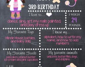 The Doc - Doc McStuffins Inspired Theme Chalk Board Poster