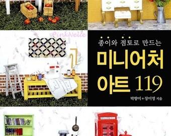Dollhouse MINIATURE - Craft Book