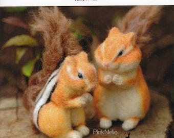 Needle Felting Small Animals  - Japanese Craft Book