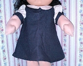 "20"" Cabbage Patch doll clothes sewing patterns, set of 3 outfits PDF"