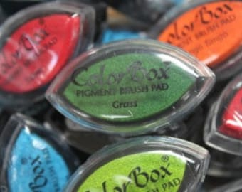 ColorBox Cat's Eye PIGMENT Ink Pad - GRASS